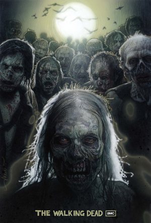 The Walking Dead - By Drew Struzan