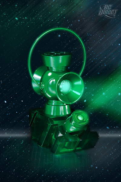 Green Lantern Ring and Lantern