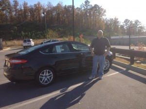 Jeff's new Ford Fusion 2013