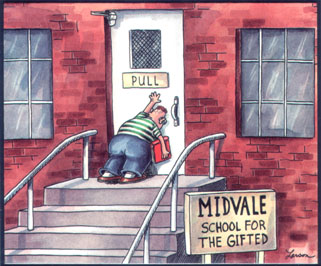 The Far Side - Gifted School